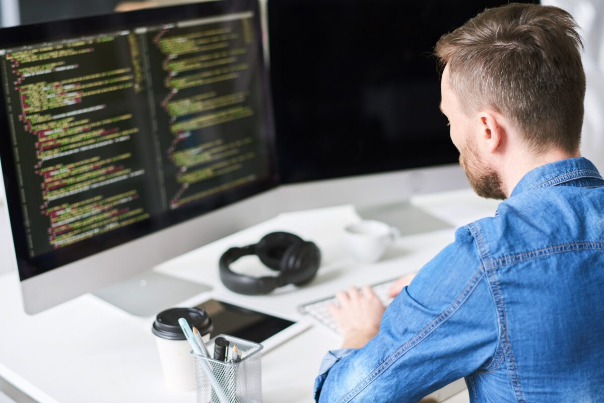 Developing software on computer
